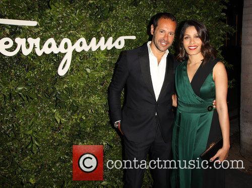 Massimiliano Giornetti and Freida Pinto 1