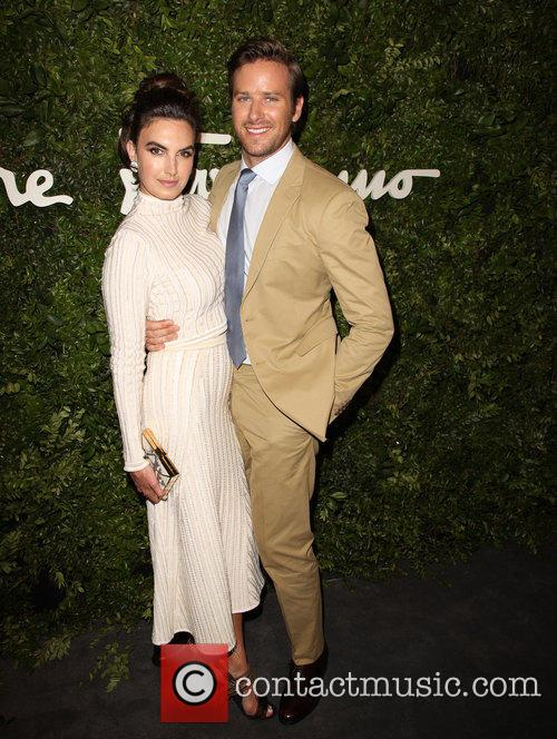 Elizabeth Chambers and Armie Hammer 4