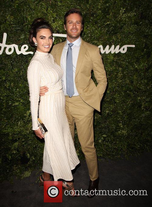 Elizabeth Chambers and Armie Hammer 5