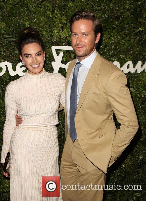 Elizabeth Chambers and Armie Hammer 7