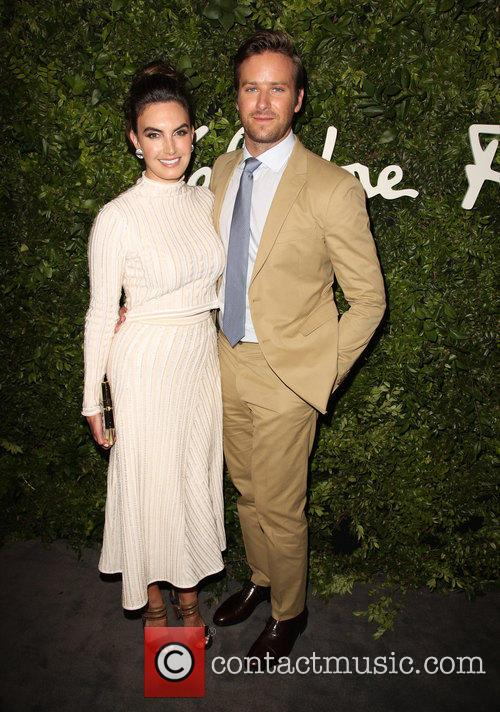 Elizabeth Chambers and Armie Hammer 8