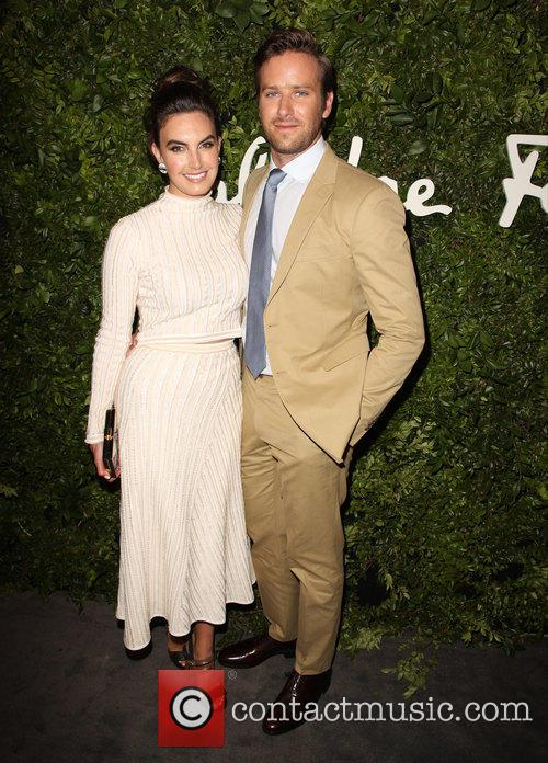 Elizabeth Chambers and Armie Hammer 9