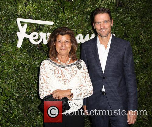 Fulvia Visconti Ferragamo and James Ferragamo 3