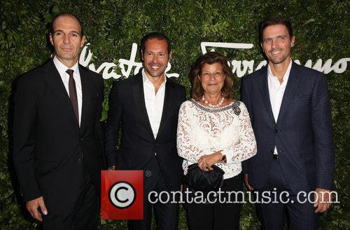 Vincent Ottomanelli, Massimiliano Giornetti, Fulvia Visconti Ferragamo and James Ferragamo 1
