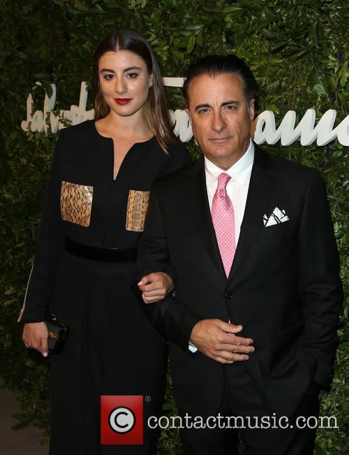 Andy Garcia and Dominik Garcia-lorido