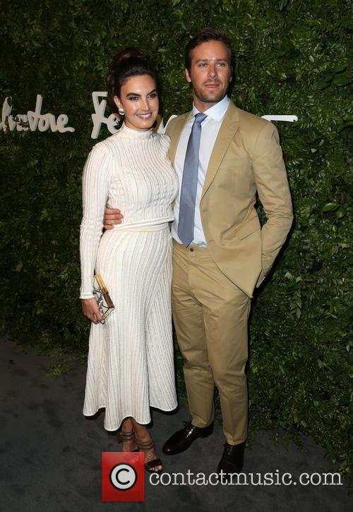 Elizabeth Chambers and Armie Hammer 2