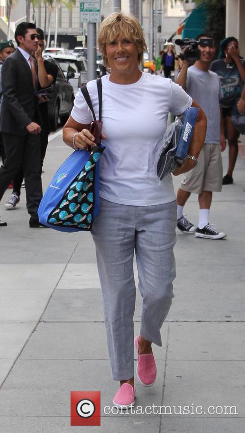 Diana Nyad out and about in Beverly Hills