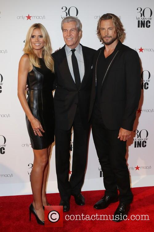 Heidi Klum, Terry Lundgren and Gabriel Aubry 1