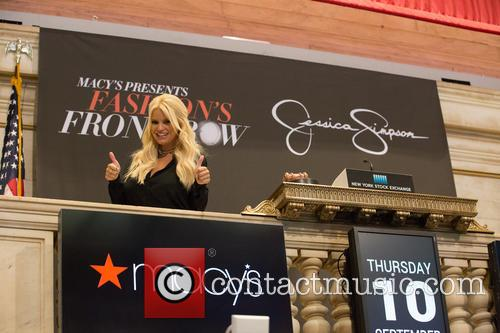 Jessica Simpson and Macy's 'Ring NYSE Opening Bell'