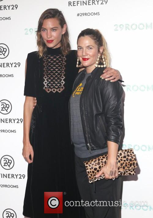 Alexa Chung and Drew Barrymore 1