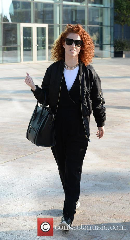 Jess Glynne arrives at the BBC Breakfast studios