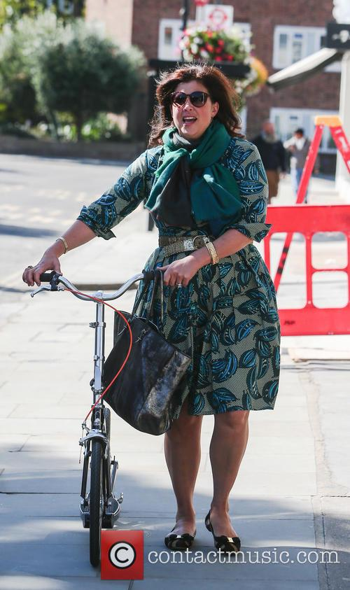 Kirstie Allsopp out in Notting Hill