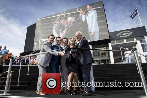 Collabro, Suzi Perry and Robert Braithwaite 1