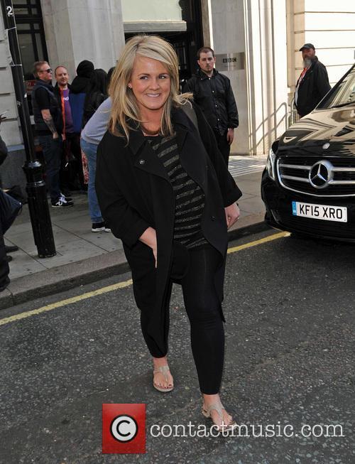 Sally Lindsay at BBC Radio 2
