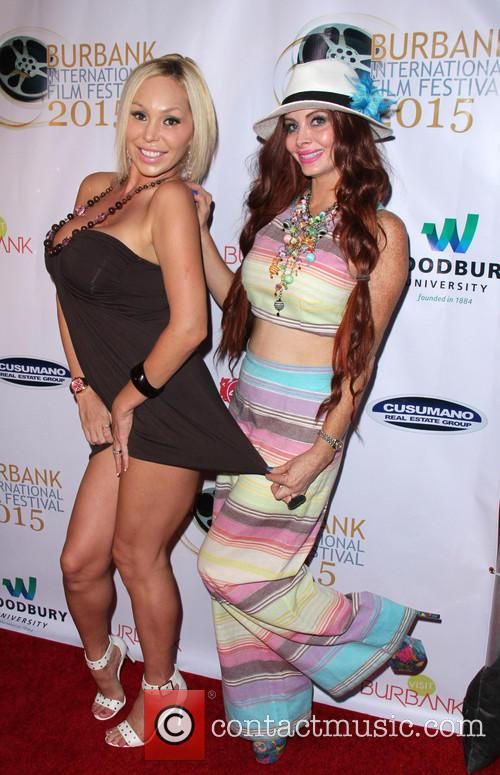 Mary Carey and Phoebe Price 1