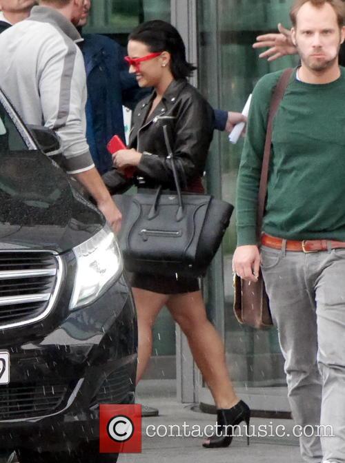 Demi Lovato leaves the Publishing House Axel Springer