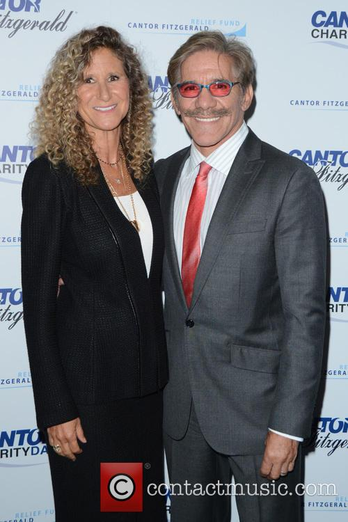 Edie Lutnick and Geraldo Rivera 1