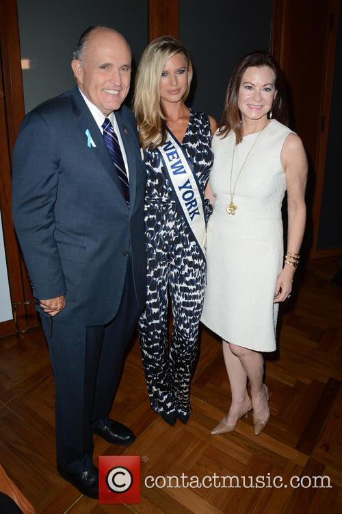 Rudy Giuliani, Nicole Kulovany and Judith Giuliani
