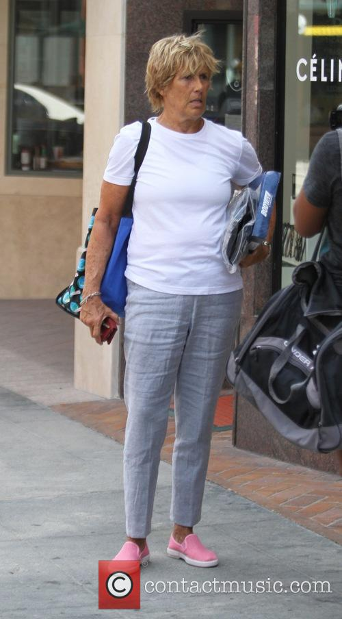Diana Nyad leaves a doctor's office in Beverly...