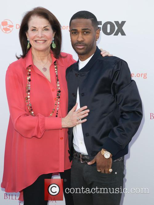 Sherry Lansing and Big Sean 1