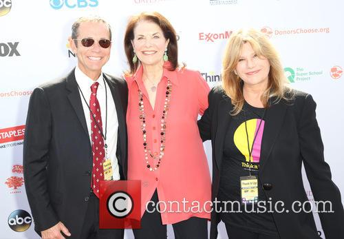 Richard Lovett, Sherry Lansing and Guest 2