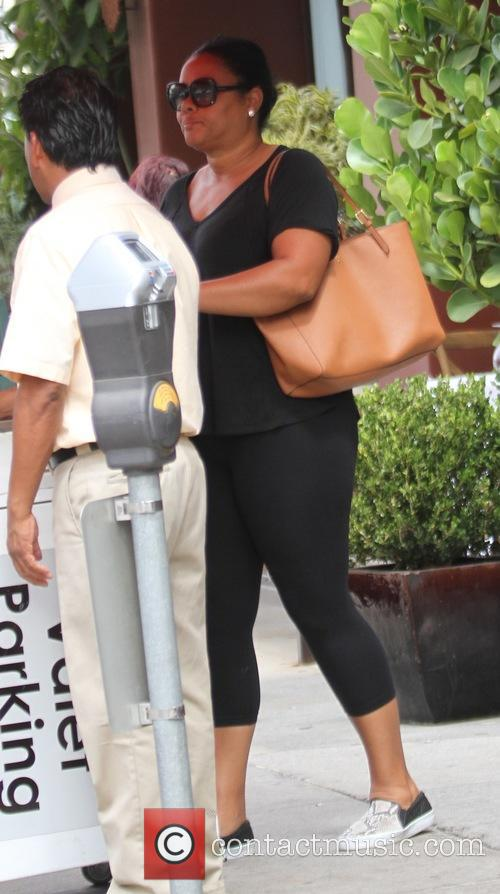 Actress Lela Rochon out and about in Beverly...