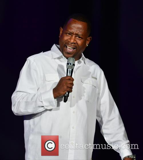Martin Lawrence performs at American Airlines Arena