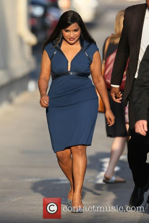 Mindy Kaling spotted at ABC studios for 'Jimmy...
