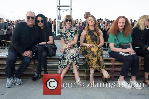 Michael Kors, Vera Wang, Anna Wintor and Grace Koddington 2