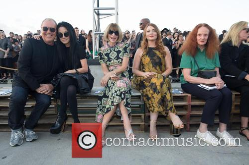Michael Kors, Vera Wang, Anna Wintor and Grace Koddington 1