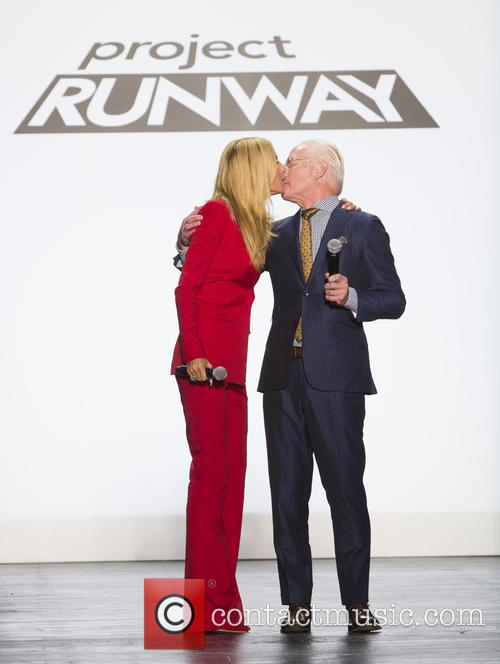 Heidi Klum and Tim Gunn 2