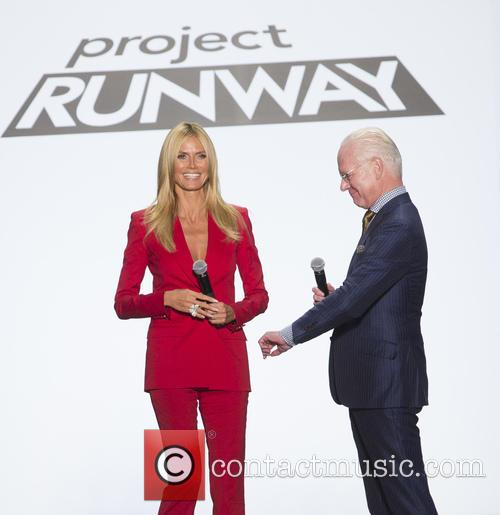 Heidi Klum and Tim Gunn 4
