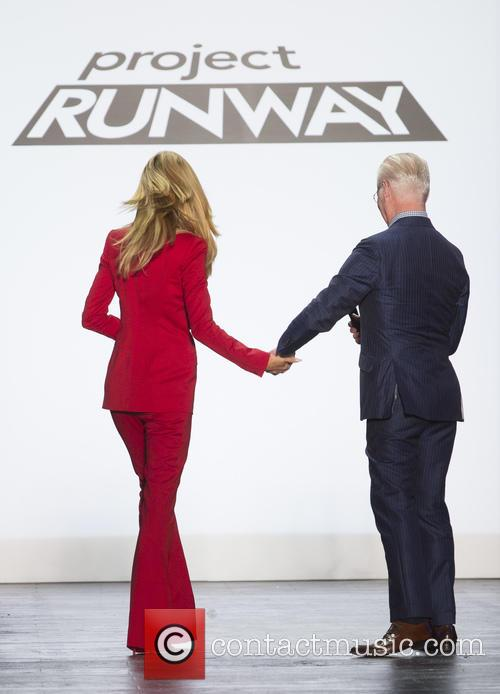 Heidi Klum and Tim Gunn 1