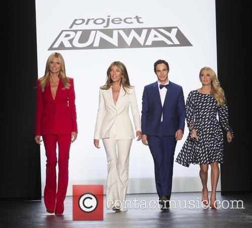 Heidi Klum, Nina Garcia, Zac Posen and Carrie Underwood 2