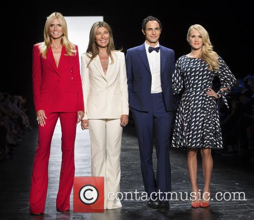 Heidi Klum, Nina Garcia, Zac Posen and Carrie Underwood 1