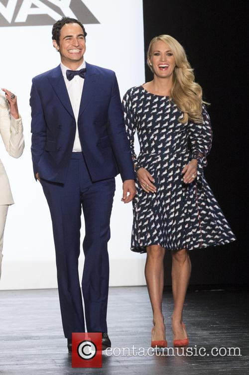 Zac Posen and Carrie Underwood 2