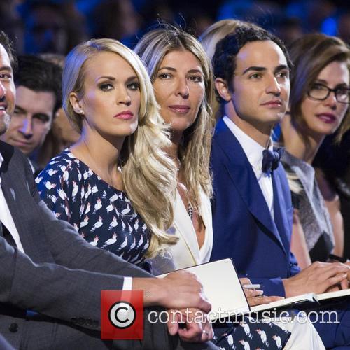 Carrie Underwood, Nina Garcia and Zac Posen