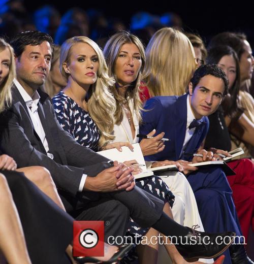 Carrie Underwood, Nina Garcia and Zac Posen 1