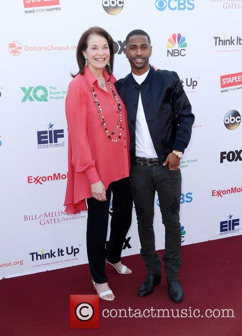 Sherry Lansing and Big Sean 3