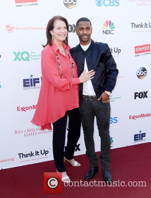 Sherry Lansing and Big Sean 4