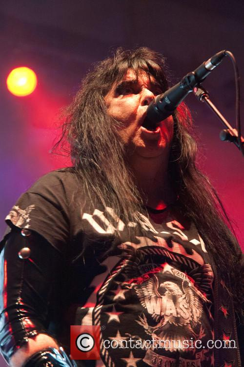 W.A.S.P. performing live on their 'Golgotha Tour'