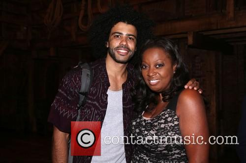 Daveed Diggs and Star Jones 1