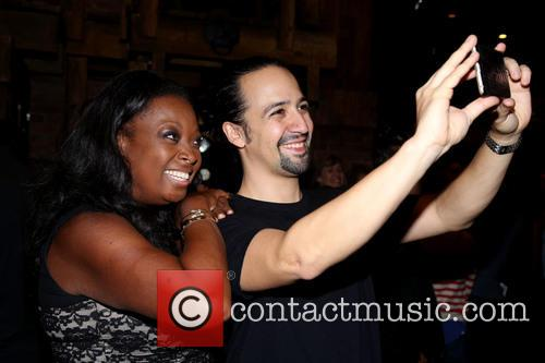Star Jones and Lin-manuel Miranda 2