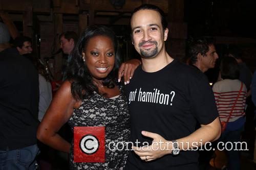 Star Jones and Lin-manuel Miranda 1