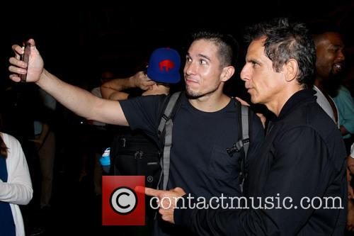 Jon Rua and Ben Stiller 2