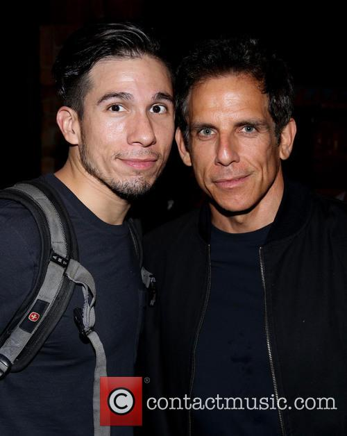 Jon Rua and Ben Stiller 1