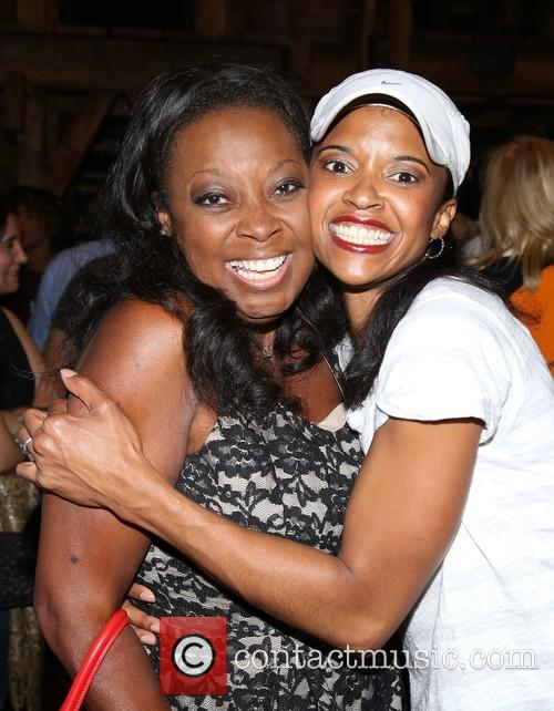 Star Jones and Renee Elise Goldsberry 2