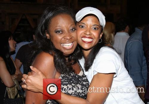 Star Jones and Renee Elise Goldsberry 3
