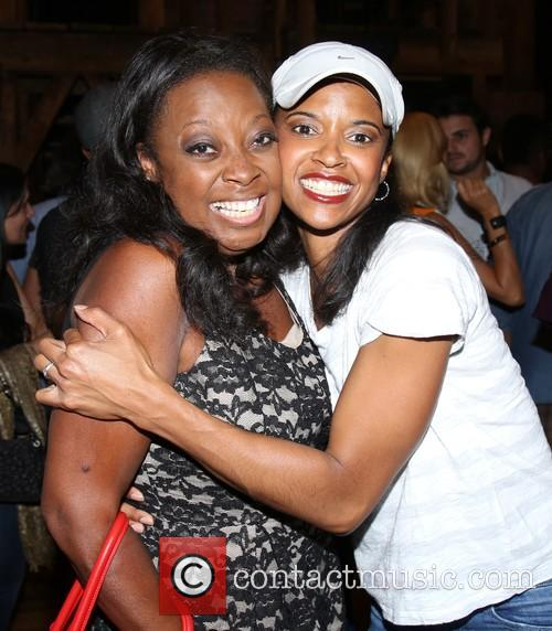 Star Jones and Renee Elise Goldsberry 1