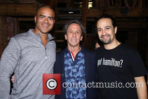 Christopher Jackson, Brian Grazer and Lin-manuel Miranda 1